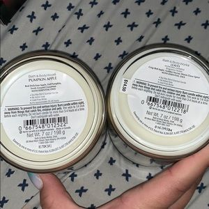 Bath & Body Works Accents - Bath and Body Works Candles